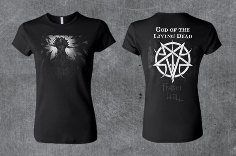 'God Of Hell' Women's Style T-Shirt