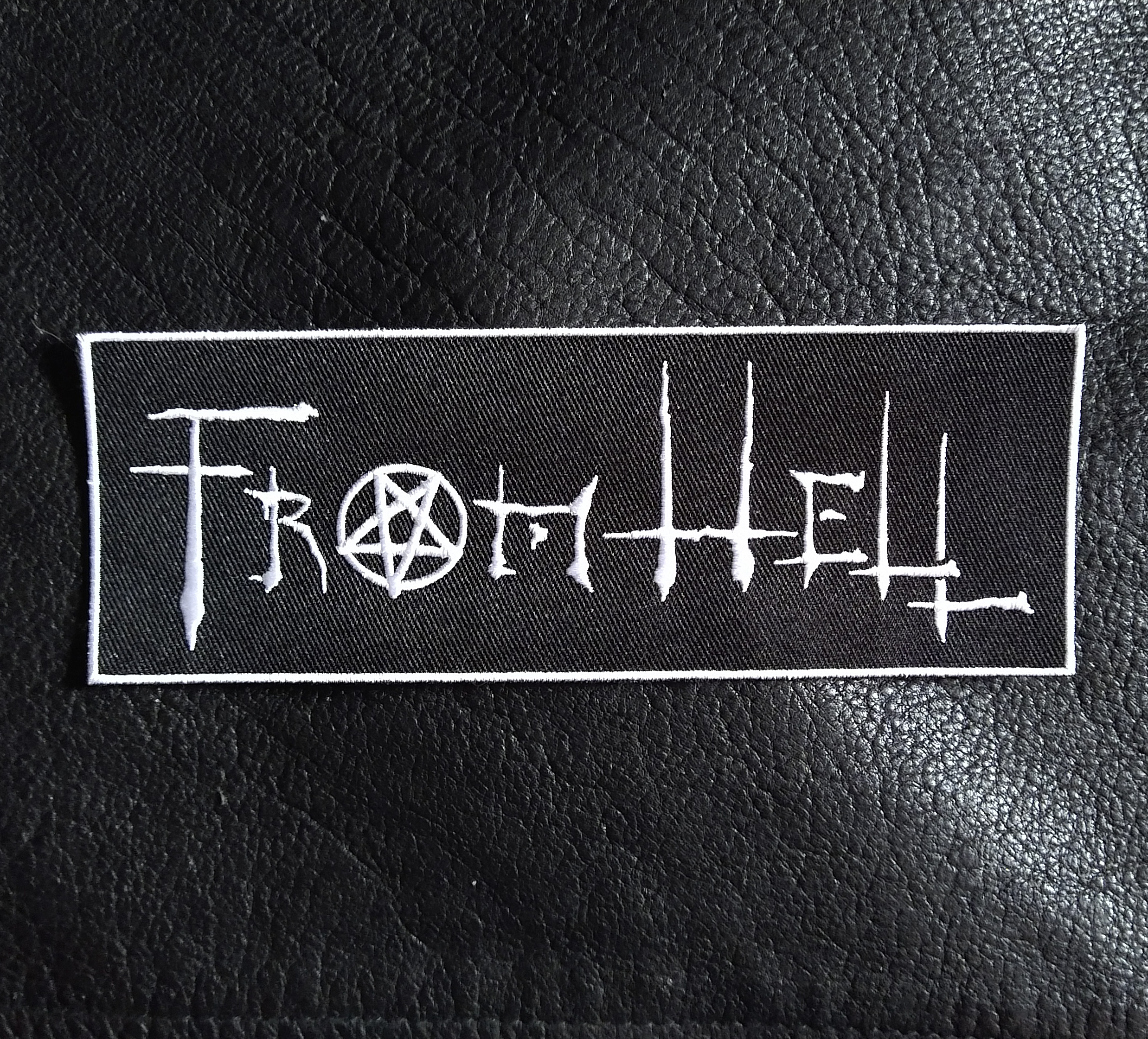 FROM HELL Embroidered Patch